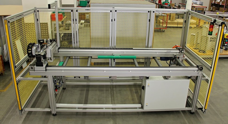 chassis, guidage XYZ, cartérisation